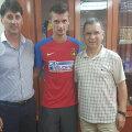 30 de milioane de euro este clauza de reziliere a contractului lui Florin Tănase, sumă stabilită de Gigi Becali // FOTO facebook Viitorul