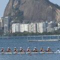 """Barca de 8 plus 1 pe laguna  """"Rodrigo de Freitas"""" // FOTO Cristi Preda (Rio de Janeiro)"""