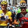 Fabian Cancellara și Lance Amstrong, foto: Guliver/gettyimages.com