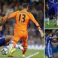 """Crampoanele lui Diego Costa """"aterizează"""" pe gamba lui Adrian"""