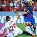 Messi (dreapta) e deja în formă, câștigând Supercupa Spaniei, al 29-lea său trofeu cu Barca // FOTO Guliver/GettyImages