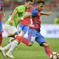 Vâlceanu a marcat aseară la primul său meci pentru Steaua în acest sezon // FOTO Alex Nicodim
