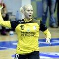 Daciana Balaban, sora fostului jucător de la Dinamo, Alex Curtean, e una dintre cele 7 jucătoare rămase la CSM Ploiești // FOTO sportpictures.eu