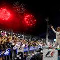 Artificii pentru victoria lui Nico Rosberg // FOTO Guliver/GettyImages