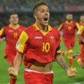 Ca și la București, Jovetici a fost dirijorul inspirat al muntenegrenilor. Are 17 goluri în 41 de meciuri