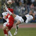 Bilica, fost la U Cluj (foto, acrobație într-un meci cu Dinamo), a jucat 8 ani în Italia (Venezia, Palermo, Brescia și Ancona). A fugit din Peninsulă după ce a lăsat gravidă o puștoaică siciliană