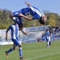 Ivan a celebrat în stilul său tradițional marcarea golului, sub privirile lui Măzărache