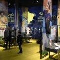 Muzeul e vizitat și de copii însoțiți de mămici