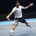 Novak Djokovici s-a antrenat cu convingere zilele acestea la Arena O2 din Londra // FOTO Guliver/GettyImages