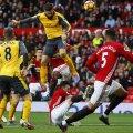 Giroud, numărul 12, egalează pentru Arsenal pe Old Trafford
