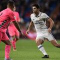 Enzo l-a avut antrenor pe Zinedine și la Real Castilla, pentru care a dat 5 goluri în 61 de meciuri // Foto: AFP