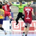 Denisa Dedu într-o acțiune a meciului contra Rusiei // Foto: Marius Ionescu