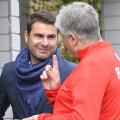 La începutul mandatului său la Dinamo, Mutu se înţelegea bine cu Andone