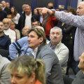 Florin Bercean (dreapta) l-a acuzat dur pe preşedintele Florin Lascău
