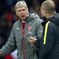 Wenger își susține punctul de vedere în fața omologului Guardiola // foto: Gulliver/GettyImages