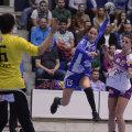 Cristina Vărzaru a evoluat la CSM București în ultimele patru sezoane, cucerind Liga Campionilor sezonul trecut // FOTO: Raed Krishan