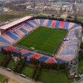 Imagine panoramică a stadionului Ghencea, unde s-a jucat ultimul meci de fotbal în 2015