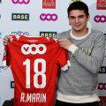 Răzvan și-a luat același număr ca la Viitorul
