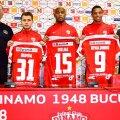 Ando și Mutu i-au prezentat pe Bumba, pe Dielna și pe Rivaldinho. Dinamo mai așteaptă doi mijlocași din străinătate // FOTO fcdinamo.ro