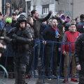Suporterii steliști au anunţat că vor protesta pașnic și nu vor crea probleme jandarmilor și autorităţilor implicate // FOTO Raed Krishan