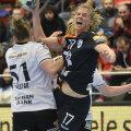 Linnea Torstenson se întoarce azi în Danemarca, acolo unde a jucat la Aalborg, Copenhaga și Viborg // FOTO Alex Nicodim