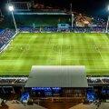 Vedere din dronă a stadionului Viitorului inaugurat în urmă cu doi ani // Foto Claboo Media