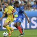 Duel Chipciu - Coman în înfrângerea cu Franța de la Euro