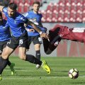 Țâru și Deac s-au întrecut în dueluri pline de agresivitate, mai numeroase decât fazele de fotbal spectaculos