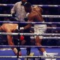 Anthony Joshua și-a apărat centura IBF pe Wembley în fața a 90.000 de fani și le deține acum și pe cele WBA și IBO, foto: reuters
