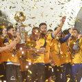 Sâmbătă, 13 mai, Hagi și ai lui au sărbătorit primul titlu din istoria clubului înființat în 2009