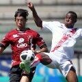 Coulibaly, în dreapta, pe când juca la Grosseto, în Serie B. sursa: Guliver/GettyImages