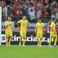 """""""Tricolorii"""" au plecat cu capul plecat de la Varșovia"""