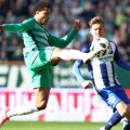 Gnabry, în verde. foto: Guliver/GettyImages