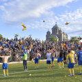 Suporterii au făcut spectacol cu jucătorii Petrolului la finalul meciului de sâmbătă seară //FOTO: Cristi Preda / GAZETA SPORTURILOR