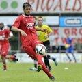 Katsikas, într-unul din puținele meciuri jucate în Olanda pentru Twente