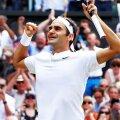 Roger Federer, Wimbledon, foto: reuters