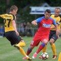 Imagine cu Budescu în meciul amical dintre FCSB și Oleksandriya din această vară