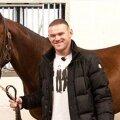 Rooney și calul său // FOTO via calciatoribrutti.com