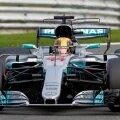 Lewis Hamilton concurând în timpul calificărilor de ieri FOTO Reuters