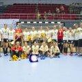 SCM Craiova și-a câștigat locul în Europa după ce a jucat finala Cupei României, pierdută cu CSM București FOTO Cristi Preda