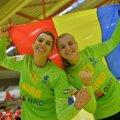 Denisa Dedu (stânga) și Iulia Dumanska  Foto: Alex Nicodim/Gazeta Sporturilor