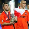În tricoul lui Șahtior, Raț a ridficat trofeul UEFA după ce a învins-o pe Werder Bremen în finală, scor 2-1
