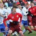 Nedelcearu (în dreapta) a jucat 90 minute în meciul cu Dinamo Moscova, la debutul în Rusia // FOTO: Facebook FC Ufa