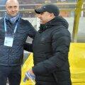 Leo Grozavu, în stânga