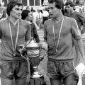 Nicolae Tilihoi și Aurel Țicleanu // Foto: Gazeta Sporturilor