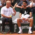 Andre Agassi și Novak Djokovic 