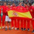 Spania a câștigat la Valencia meciul cu Germania, 3-2, în sferturile Cupei Davis // FOTO: Reuters