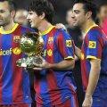 Andres Iniesta, Lionel Messi, Xavi Hernandez (foto: Guliver/Getty Images)
