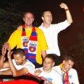 Imagine de la sărbătorirea titlului 2013, după FCSB - FC Brașov 4-0