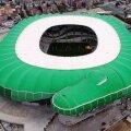 Stadionul unic în lume al lui Bursaspor, în formă de crocodil